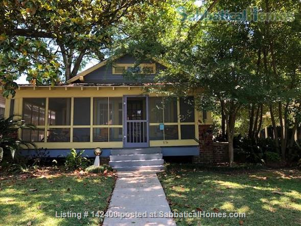 Sweet Furnished Bungalow in Garden District of Baton Rouge Home Rental in Baton Rouge, Louisiana, United States 1