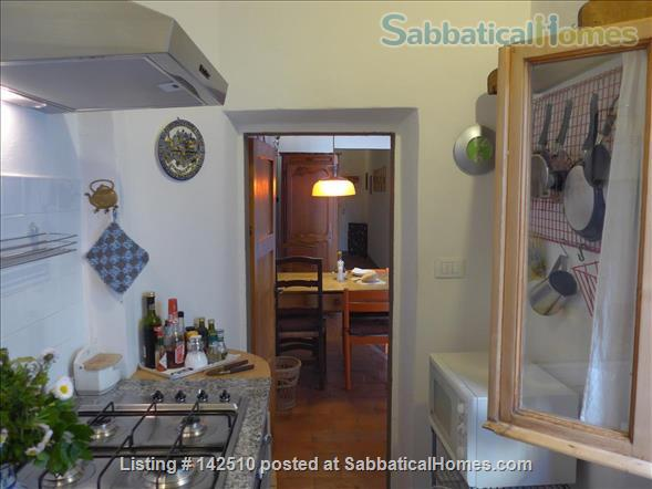 Quiet luminous balcony Apartment Home Rental in Florence 5