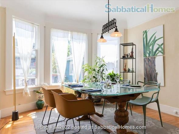 3BR 2 BA light-filled house in safe residential neighborhood  Home Rental in San Francisco, California, United States 1