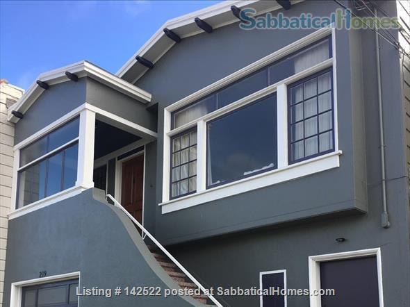 3BR 2 BA light-filled house in safe residential neighborhood  Home Rental in San Francisco, California, United States 4