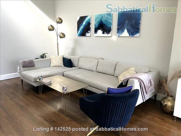 Beautiful and comfortable 2BR in Boston South End - Dec-March ($3,200) Home Rental in Boston, Massachusetts, United States 1