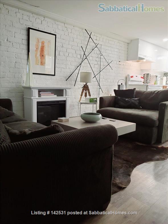 Two bedroom flat in Toronto's hippest neighbourhood. Art infused, design-conscious, happening. Home Rental in Toronto, Ontario, Canada 1