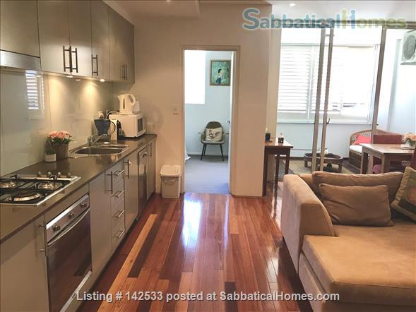 Comfortable, compact 2-bedroom apartment 400m from the University of Sydney  Home Rental in Forest Lodge, New South Wales, Australia 1