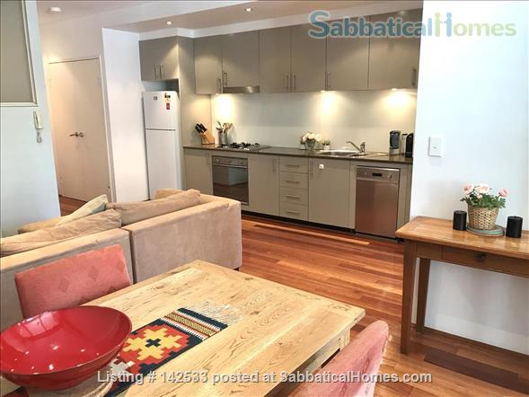 Comfortable, compact 2-bedroom apartment 400m from the University of Sydney  Home Rental in Forest Lodge, New South Wales, Australia 2
