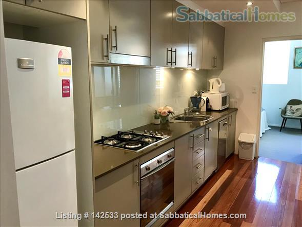 Comfortable, compact 2-bedroom apartment 400m from the University of Sydney  Home Rental in Forest Lodge, New South Wales, Australia 3