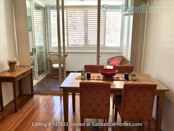 Comfortable, compact 2-bedroom apartment 400m from the University of Sydney  Home Rental in Forest Lodge, New South Wales, Australia 5