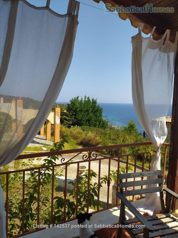 Breathtaking sea and Mt Olympus views/Greece/garden/hot springs/spa/swimming/rock climbing/hiking/ Home Rental in Halkidiki, , Greece 9