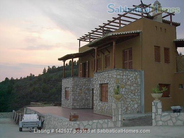 Breathtaking sea and Mt Olympus views/Greece/garden/hot springs/spa/swimming/rock climbing/hiking/ Home Rental in Halkidiki, , Greece 4