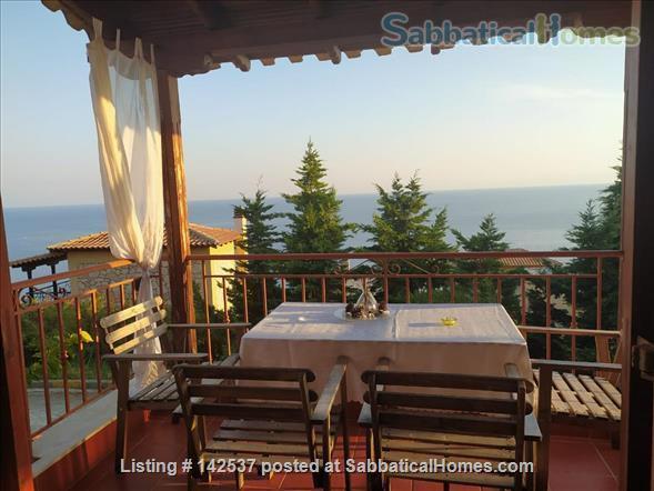 Breathtaking sea and Mt Olympus views/Greece/garden/hot springs/spa/swimming/rock climbing/hiking/ Home Rental in Halkidiki, , Greece 6