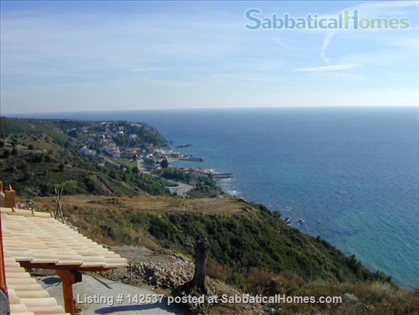 Breathtaking sea and Mt Olympus views/Greece/garden/hot springs/spa/swimming/rock climbing/hiking/ Home Rental in Halkidiki, , Greece 0