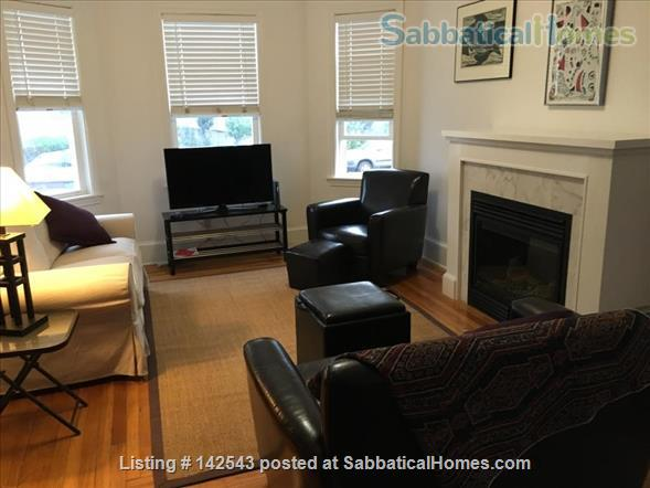 Sunny,  spacious one BR walk to Davis Square and subway Home Rental in Somerville 1 - thumbnail