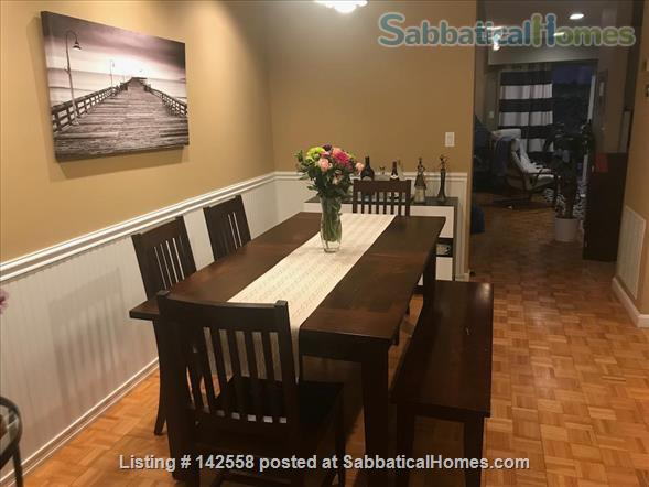 Contemporary two stories Condo (2BR + 2 BATH), fully furnished in the Fresh Pond Area. 1 mile from Harvard Sq. Utilities included with backyard, BBQ and indoors heated pool. Home Rental in Cambridge, Massachusetts, United States 2