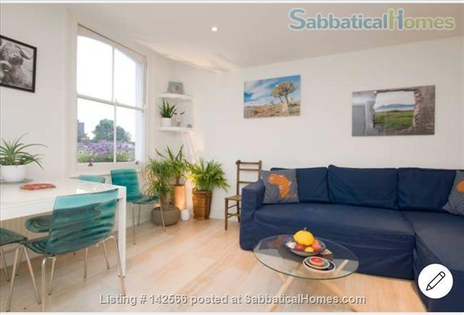 Bright 1 bedroom Victorian flat! Home Rental in Mildmay Ward, England, United Kingdom 2