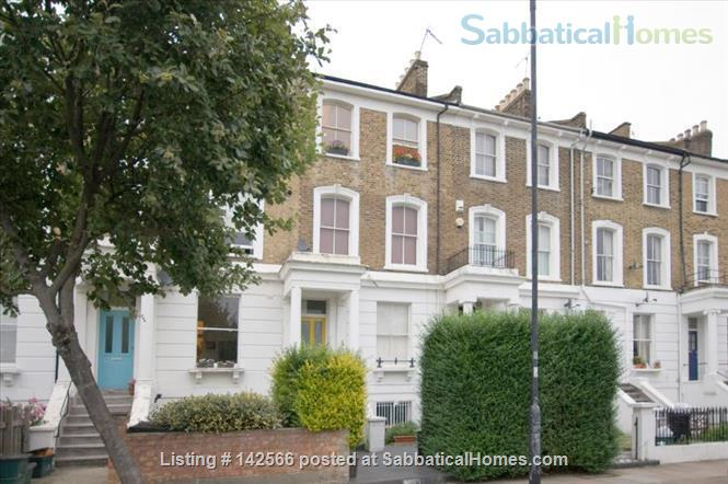 Bright 1 bedroom Victorian flat! Home Rental in Mildmay Ward, England, United Kingdom 4