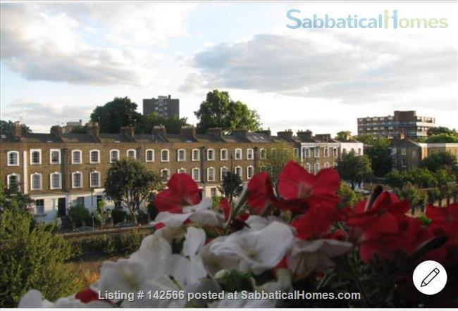 Bright 1 bedroom Victorian flat! Home Rental in Mildmay Ward, England, United Kingdom 5