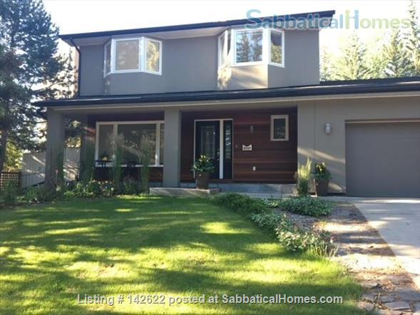 Executive Calgary Home Alongside Picturesque Glenmore Reservoir Home Rental in Calgary, Alberta, Canada 1