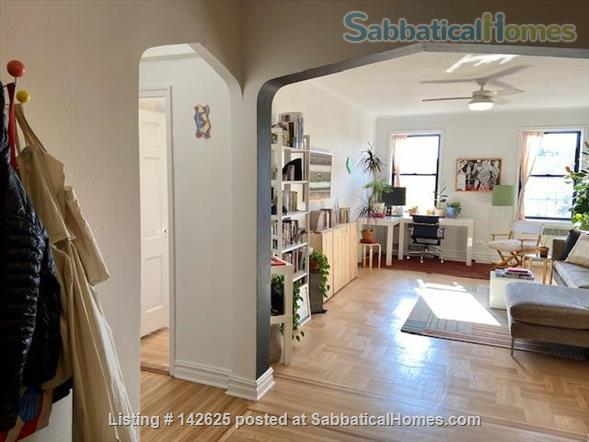 Huge Sun-Drenched Furnished 1-BR with Breakfast Nook / 2nd Workspace Home Rental in Prospect Lefferts Gardens, New York, United States 0
