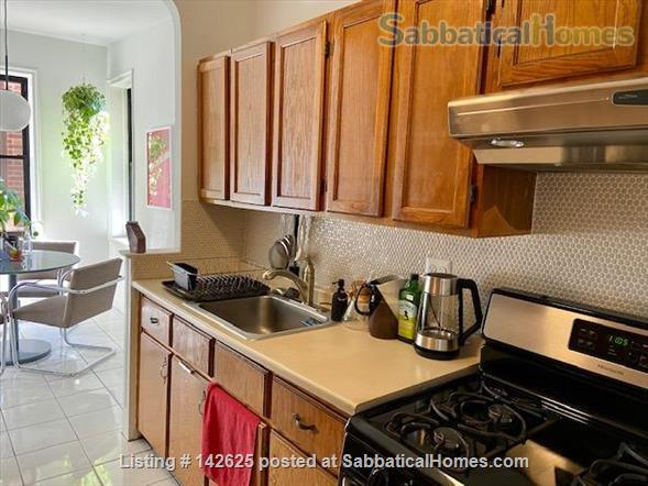 Huge Sun-Drenched Furnished 1-BR with Breakfast Nook / 2nd Workspace Home Rental in Prospect Lefferts Gardens, New York, United States 4