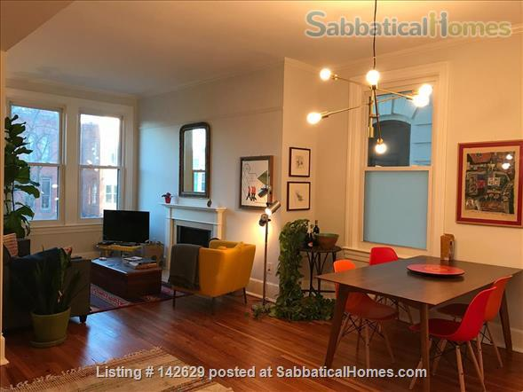 Fully furnished flat in historic Capitol Hill Home Rental in Washington, District of Columbia, United States 0