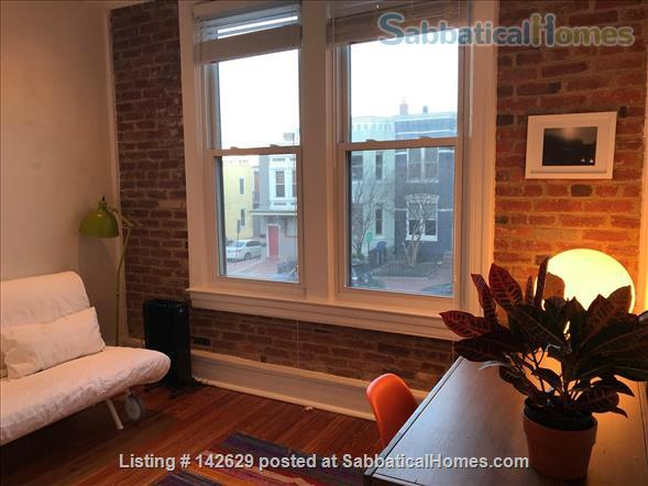 Fully furnished flat in historic Capitol Hill Home Rental in Washington, District of Columbia, United States 5
