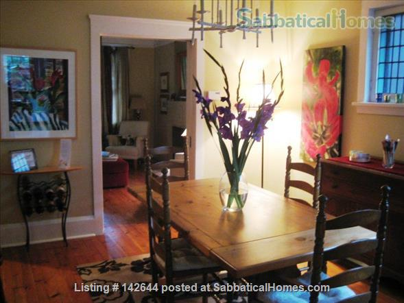 Artist's Quaint and Lovely Downtown Arts & Crafts Home in Heritage Cabbagetown Home Rental in Toronto, Ontario, Canada 0