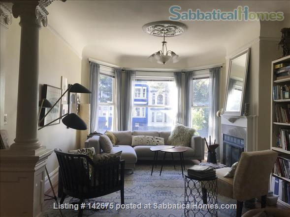 Beautiful Apartment with Victorian Charm Home Rental in San Francisco, California, United States 1