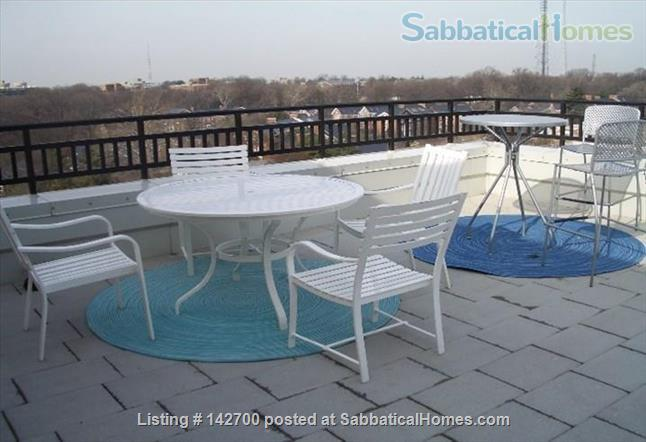 Beautiful penthouse with private rooftop terrace with parking, gym,  Home Rental in Washington, District of Columbia, United States 2