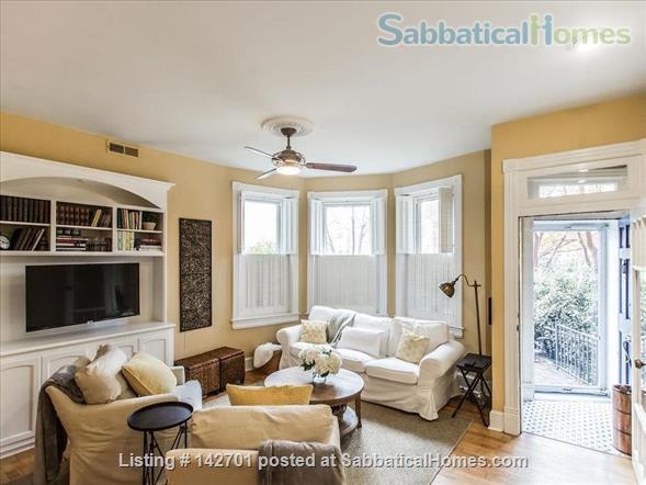 Charming Capitol Hill Rowhouse  Home Rental in Washington, District of Columbia, United States 0