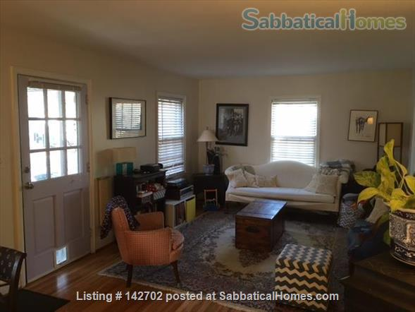 Furnished, Sunny House with Screened Porch and Fenced Yard - 2BR/1BA + Office  Home Rental in Durham 2