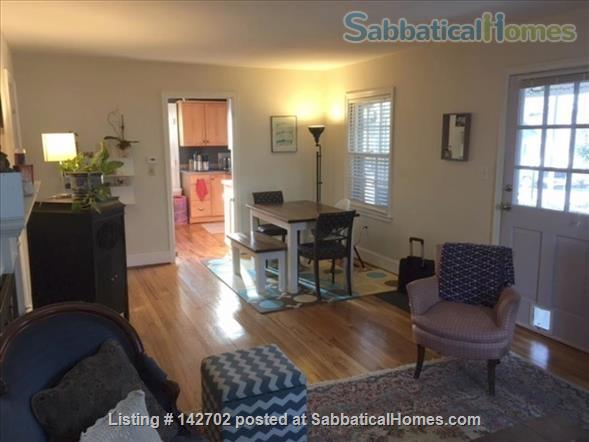 Furnished, Sunny House with Screened Porch and Fenced Yard - 2BR/1BA + Office  Home Rental in Durham 3