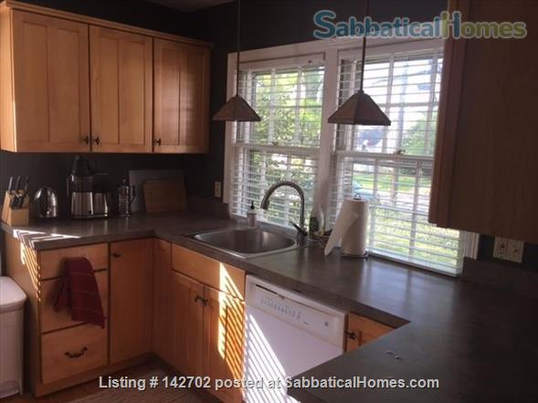 Furnished, Sunny House with Screened Porch and Fenced Yard - 2BR/1BA + Office  Home Rental in Durham, North Carolina, United States 4