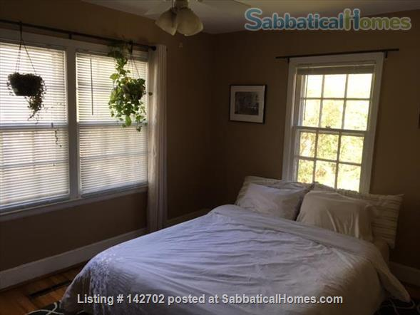 Furnished, Sunny House with Screened Porch and Fenced Yard - 2BR/1BA + Office  Home Rental in Durham 6
