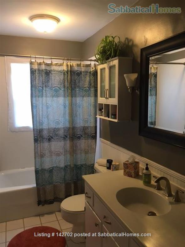 Furnished, Sunny House with Screened Porch and Fenced Yard - 2BR/1BA + Office  Home Rental in Durham 8