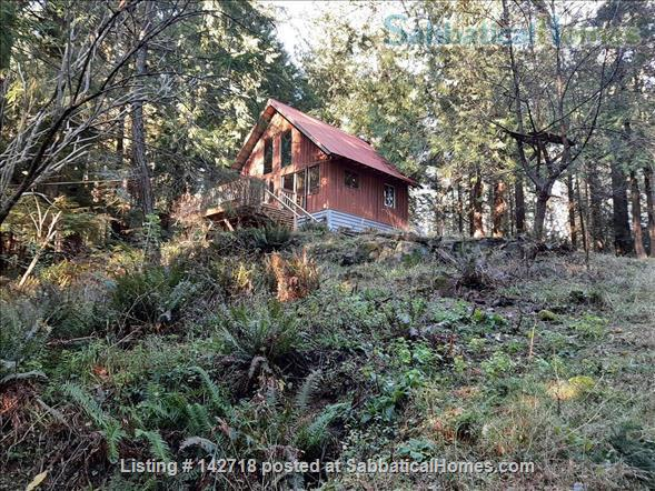 Cozy Cabin on the Gulf Islands. Home Rental in Galiano Island 1 - thumbnail