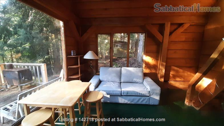 Cozy Cabin on the Gulf Islands. Home Rental in Galiano Island 0 - thumbnail