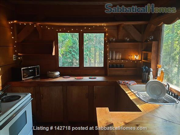 Cozy Cabin on the Gulf Islands. Home Rental in Galiano Island 2 - thumbnail