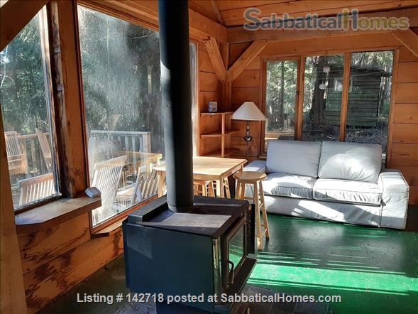 Cozy Cabin on the Gulf Islands. Home Rental in Galiano Island 7 - thumbnail