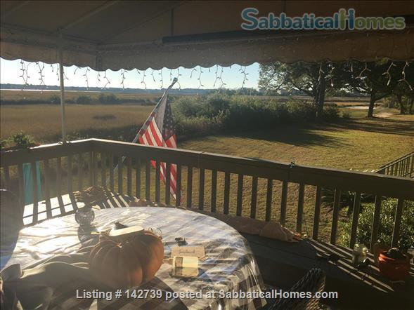 Charleston home w/ stunning marsh views on the Stono River Home Rental in Charleston, South Carolina, United States 5