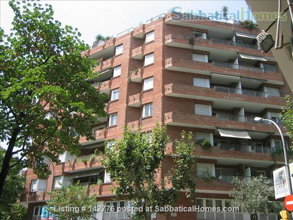 IDEALLY LOCATED FLAT IN BARCELONA DOWNTOWN (EIXAMPLE) Home Rental in Barcelona, Catalunya, Spain 1