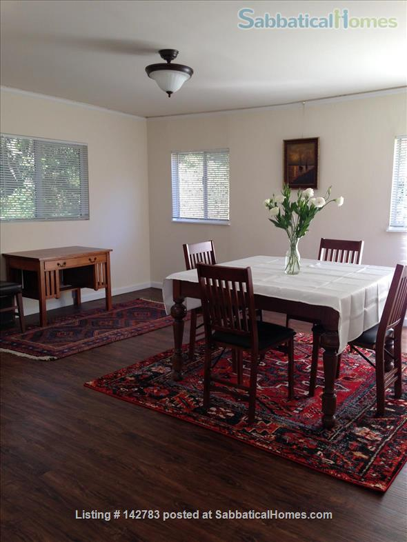 Spacious Quiet Berkeley Home In Large Private Garden Setting Home Rental in Berkeley, California, United States 4