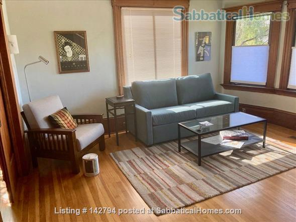 Berkeley Elmwood 1 bedroom Craftsman flat, walk to UC, Berkeley. Home Rental in Berkeley, California, United States 3