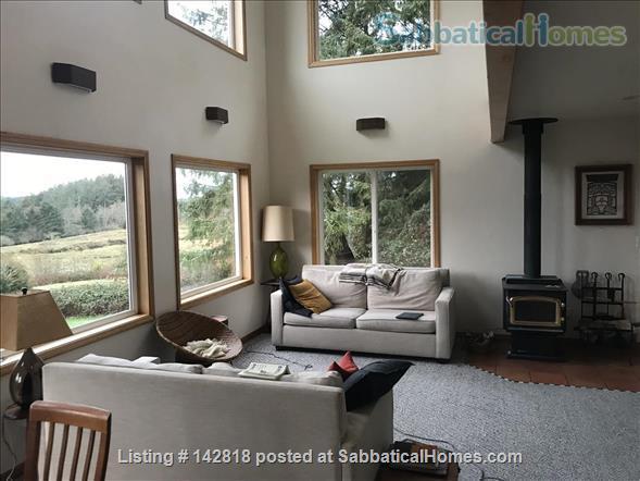 Expansive, Sunny, Coastal Paradise with Stunning Views Home Rental in Nehalem, Oregon, United States 1