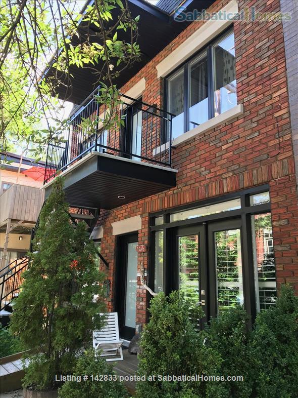Superb & sunny 4bd in the heart of Little Italy Home Rental in Montreal, Quebec, Canada 1