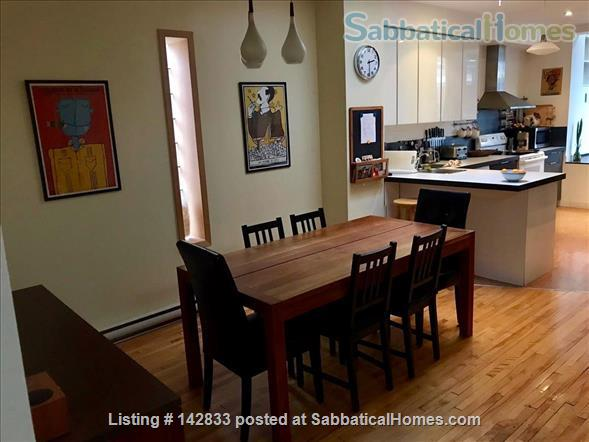 Superb & sunny 4bd in the heart of Little Italy Home Rental in Montreal, Quebec, Canada 2