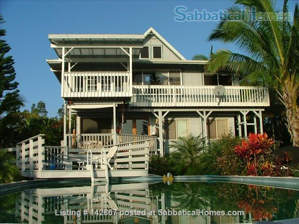 Coastal Paradise Point Home Rental in Keaau, Hawaii, United States 1