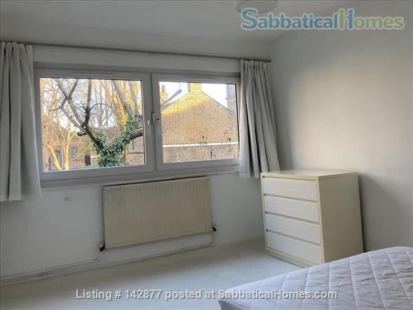Two bedroom flat with garden in Shoreditch, London E2 Home Rental in London, England, United Kingdom 4