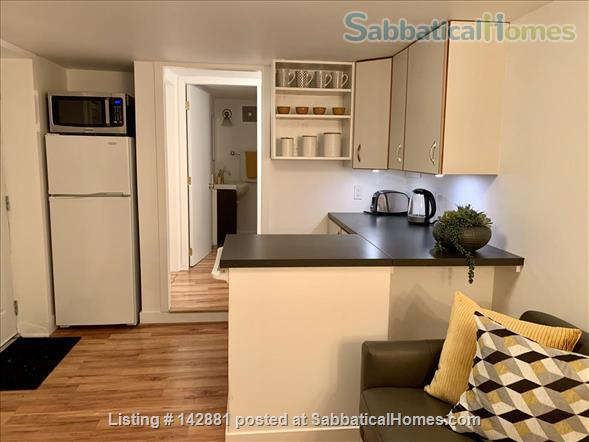 Newly furnished stylish 1 bed suite  Home Rental in Victoria, British Columbia, Canada 2