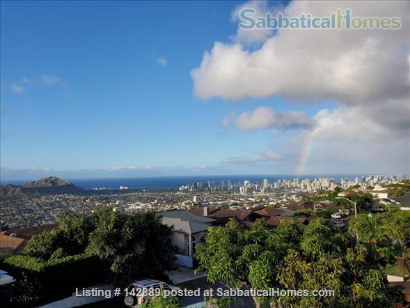 Your Honolulu home away from home w/ ocean and city views, pool + hot tub - 10 min to the beach Home Rental in Honolulu, Hawaii, United States 9