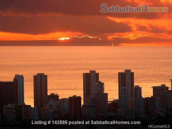 Your Honolulu home away from home w/ ocean and city views, pool + hot tub - 10 min to the beach Home Rental in Honolulu, Hawaii, United States 1