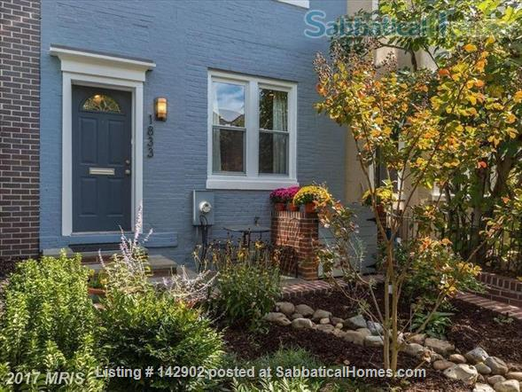 Furnished House in Shaw, DC - 3BR/1.5bath - available mid May Home Rental in Washington 1 - thumbnail